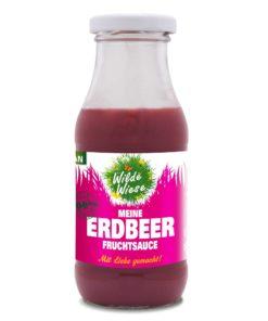Wilde Wiese - Meine Erdbeer Fruchtsauce - 100% Fruchtmark