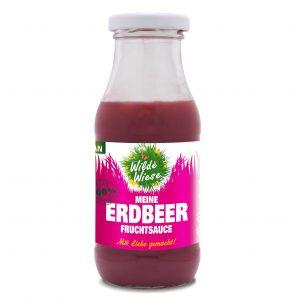 meine wilde wiese Meine-Erdbeer-Fruchtsauce