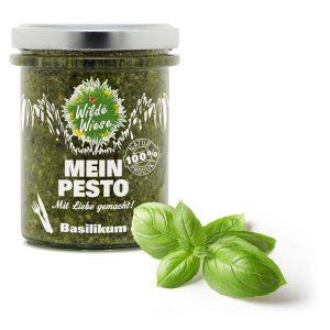 meine wilde wiese_Basilikum Pesto_made in germany