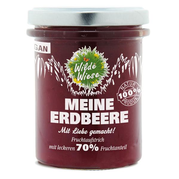 Wilde Wiese - Mein Erdbeer Fruchtaufstrich 70% Fruchtaufstrich - Vegan