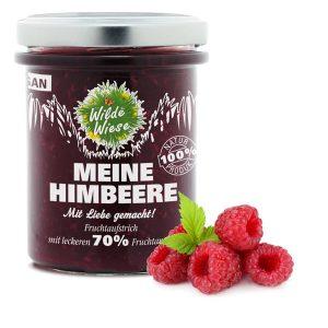 Wilde Wiese - Meine Himbeere Fruchtaufstrich 70% Fruchtaufstrich - Vegan