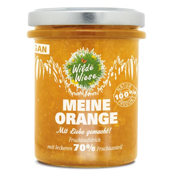 Wilde Wiese - Meine Orange Fruchtaufstrich 70% Fruchtaufstrich - Vegan