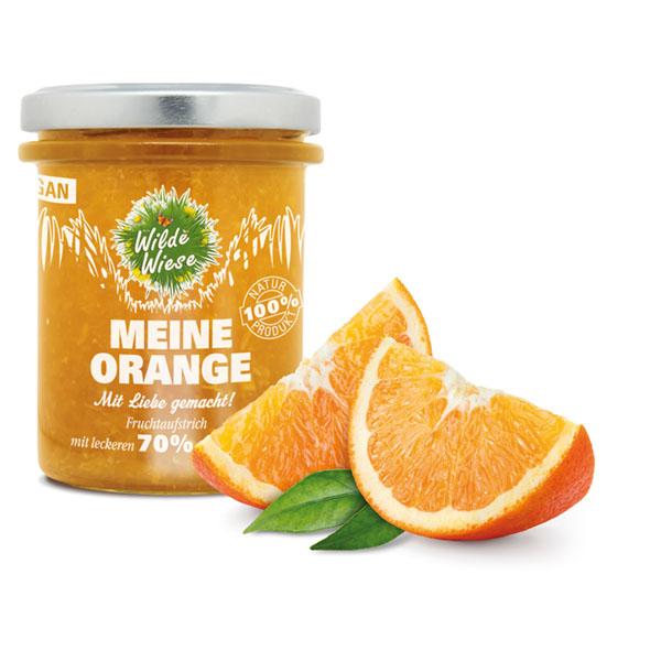 meine wilde wiese_Orange Fruchtaufstrich_made in germany_vegan