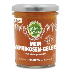 meine wilde wiese Aprikosen Aprikose Gelee Fruchtaufstrich made in germany