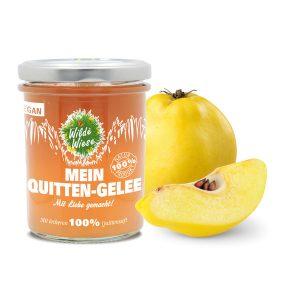 meine wilde wiese Quitten Quitte Gelee made in germany vegan