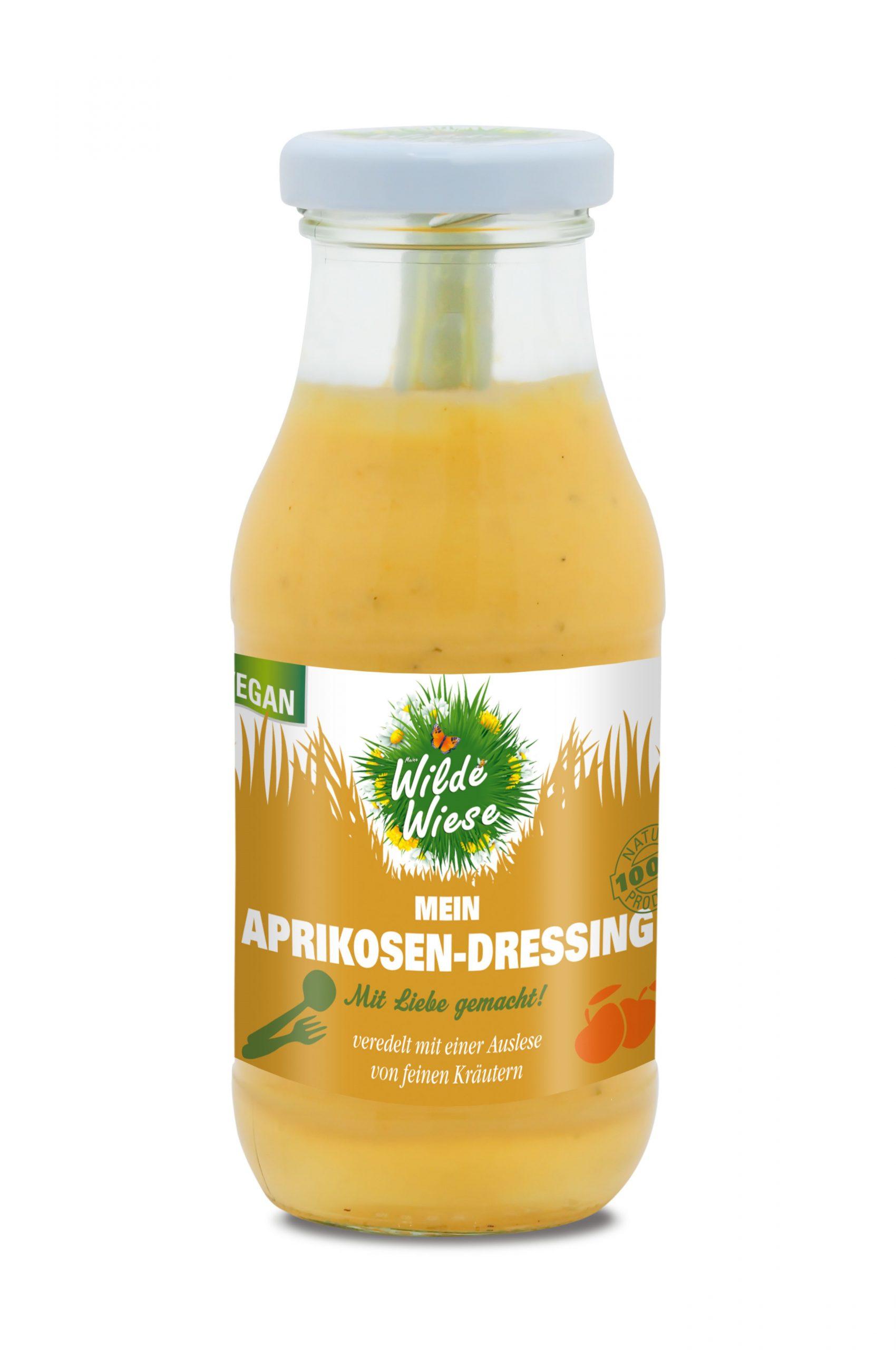 Wilde Wiese - Mein Aprikosen Dressing - Kräutern - Vegan