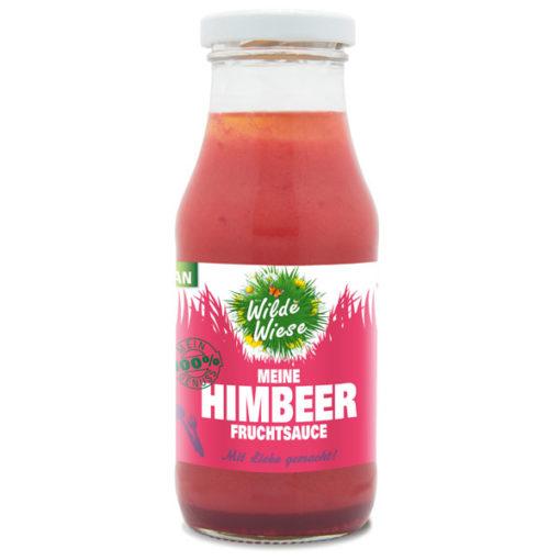 Wilde Wiese - Meine Himbeer Fruchtsauce - Vegan