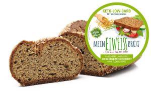 Wilde Wiese Eiweißbrot - Bockshornklee Geschmack - Keto / Low Carb / Diabetiker Brot / Zuckerfrei / Vegan