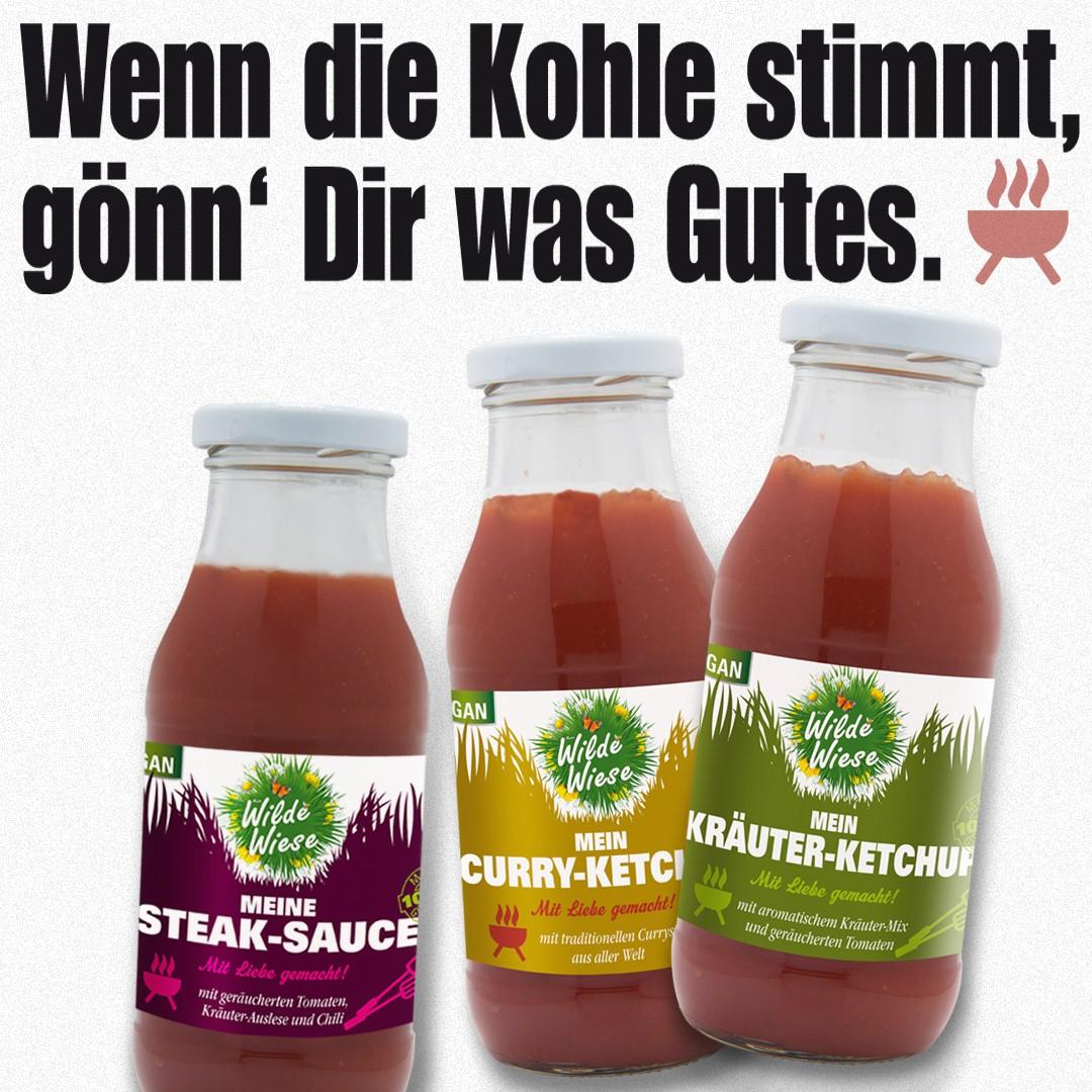 Wilde Wiese - Mein Curry Ketchup - Currys aus aller Welt- Vegan