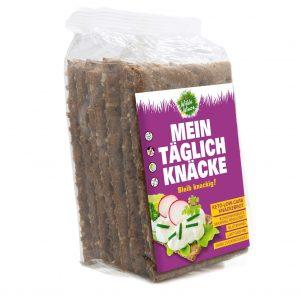 Meine Wilde Wiese Eiweiß Knäckebrot - Kürbis Geschmack - Keto / Low Carb / Diabetiker geeignet / Zuckerfrei / Glutenfrei / Vegan