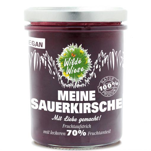 Wilde Wiese - Meine Sauerkirsche 70% Fruchtaufstrich - Vegan